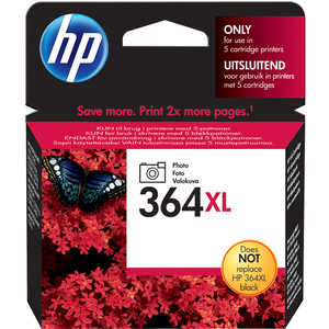 Cartucho de tinta HP No. 364XL - Negro