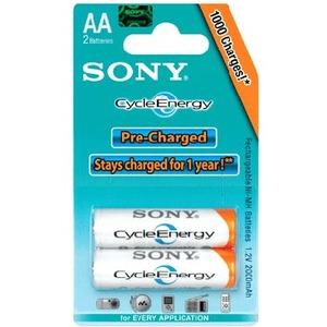 Batería de propósito general Sony Cycle Energy NHAAB2K - 2000 mAh
