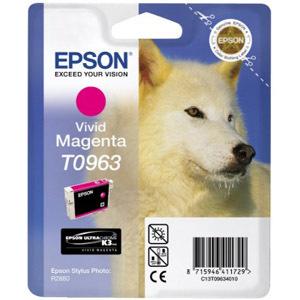 Cartucho de tinta Epson UltraChrome T0963 - Magenta
