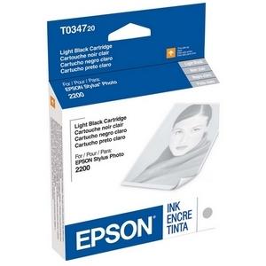 Cartucho de tinta Epson UltraChrome T0347 - Negro claro
