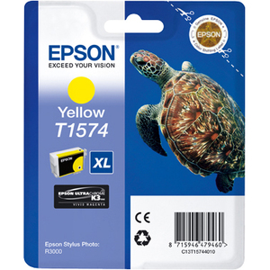 Cartucho de tinta Epson UltraChrome K3 T1574 - Amarillo