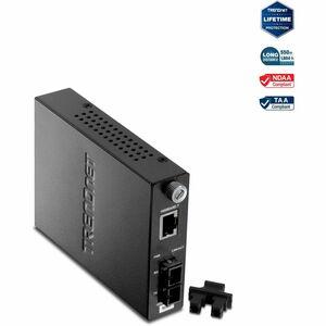 Convertidor de Media/Transceptor TRENDnet TFC-1000MSC