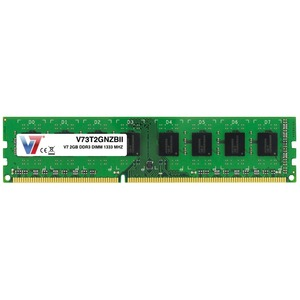 Módulo RAM V7 V73T2GNZBII - 2 GB (1 x 2 GB) - DDR3 SDRAM